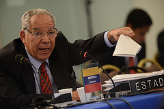 Germán Saltrón, Agent for the Bolivarian Republic of Venezuela before the Inter-American Commission of Human Rights