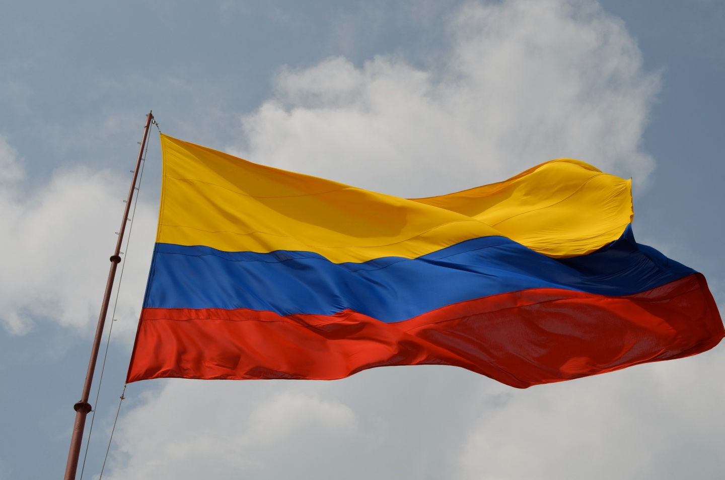 Colombia Flag - Mark Koester